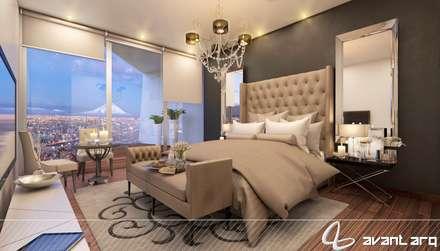 ห้องนอน by AVANT ARQ