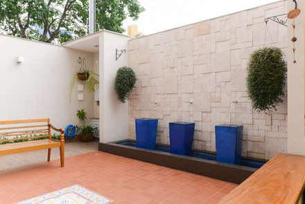Residência Jardim Avelino: Jardins modernos por LAM Arquitetura | Interiores
