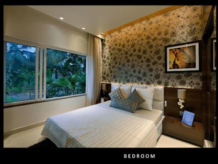 HEERA BLUEWATER: modern Bedroom by smstudio