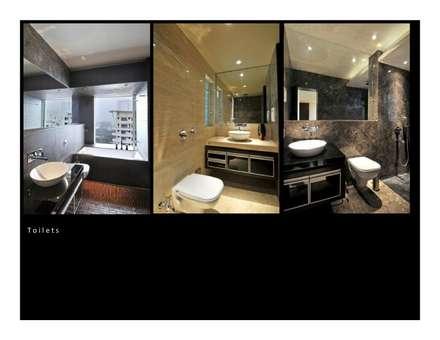 OZONE PRESENTATION: modern Bathroom by smstudio