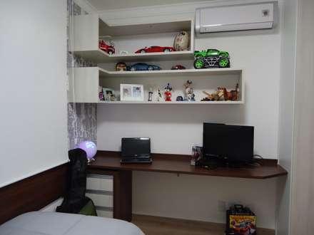modern Nursery/kid's room by Drk Arquitetura e Construção