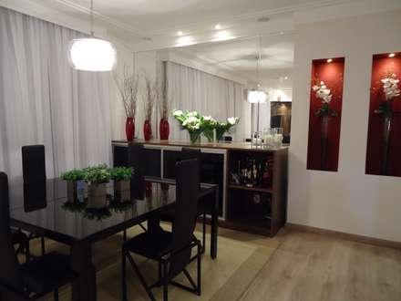 ห้องทานข้าว by Drk Arquitetura e Construção