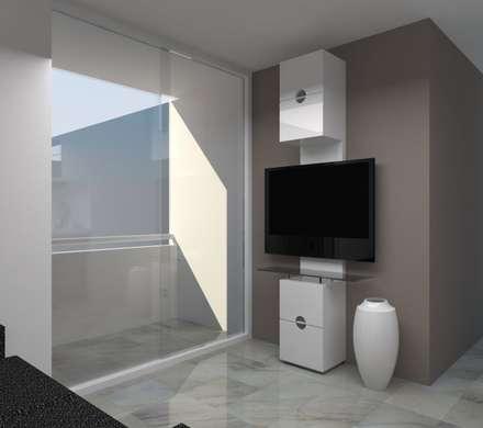 Remodelación Apartamento Agua Blanca. Valencia: Salas / recibidores de estilo moderno por Marianny Velasquez arquitecto