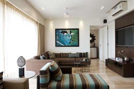 AS Apartment : Modern Media Room By Atelier Design N Domain