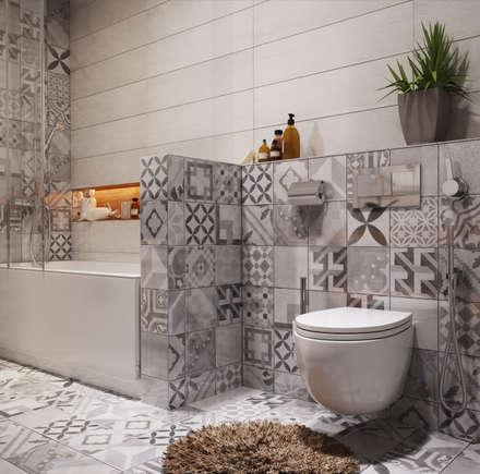 Apartament Verbi : Ванные комнаты в . Автор – Polygon arch&des
