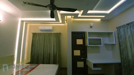 Bedroom storage designs: asian Bedroom by Bonito Designs Bangalore