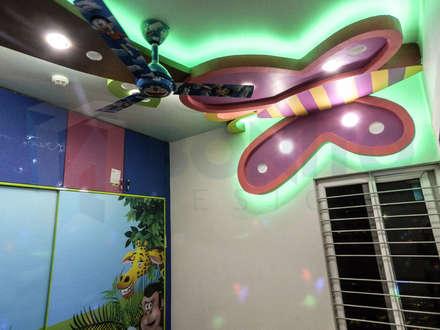 asian Nursery/kid's room by homify