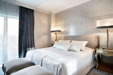 Quarto/bedroom: Quartos modernos por 3L, Arquitectura e Remodelação de Interiores, Lda