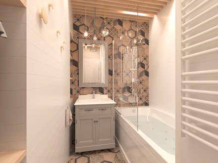 Ванная комната: Ванные комнаты в . Автор – ARCHIForma