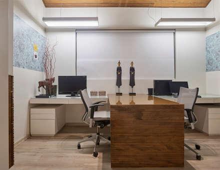modern Study/office by Isabela Canaan Arquitetos e Associados