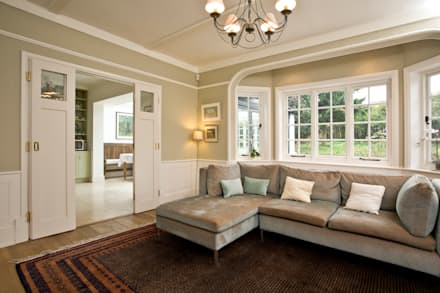 Purley House: classic Living room by Blankstone