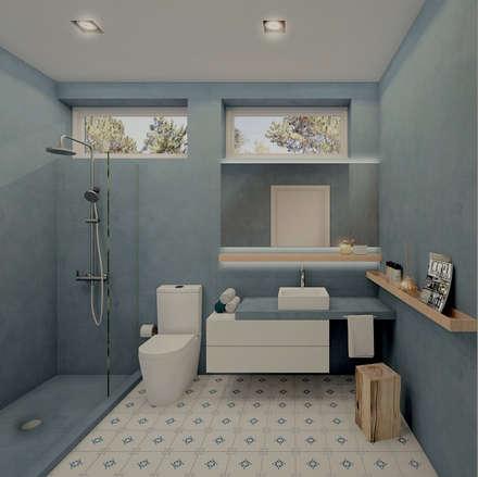 ห้องน้ำ by MRS - Interior Design