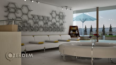 Hospitales de estilo  por Hakan Özerdem - Mimari Proje Görselleştirme ve 3D Tasarım
