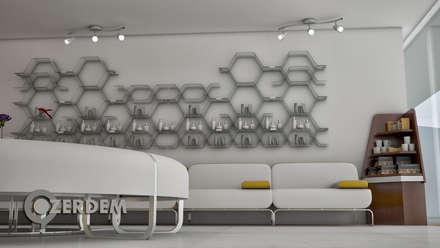Hospitales de estilo  de Hakan Özerdem - Mimari Proje Görselleştirme ve 3D Tasarım
