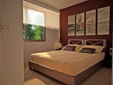 : Dormitorios de estilo clásico por Estudio arq Leonardo Calampuca