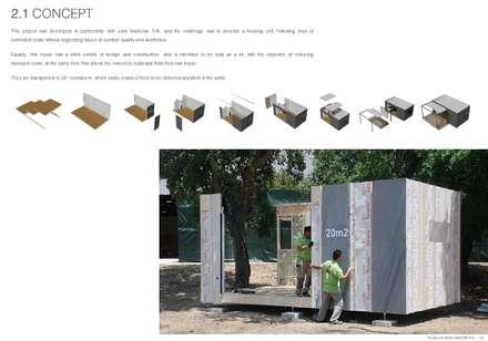 minimalistic Houses by Plano Humano Arquitectos