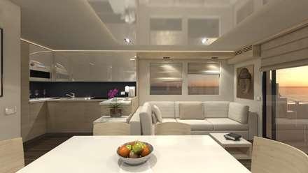 modern Yachts & jets by Studio Foschi & Nolletti