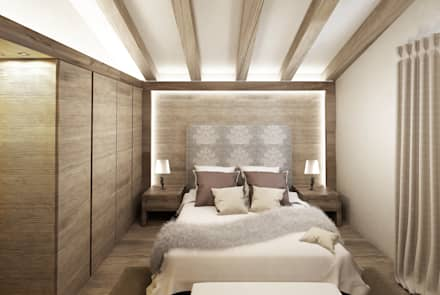 Phòng ngủ by Avogadri simone archi3d