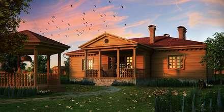 classic Houses by Design studio of Stanislav Orekhov. ARCHITECTURE / INTERIOR DESIGN / VISUALIZATION.