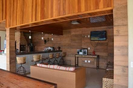 Espaços integrados: Casas campestres por Solange Figueiredo - ALLS Arquitetura e engenharia