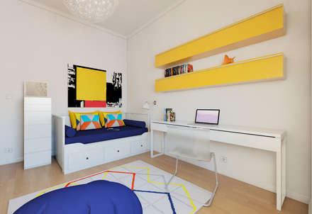 Quarto Ikea: Quartos minimalistas por José Tiago Rosa