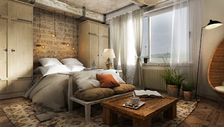 H4: Спальни в . Автор - he.d creative group
