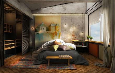 ห้องนอน by he.d group