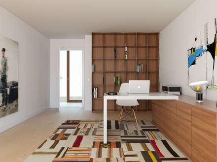 modern Study/office by José Tiago Rosa