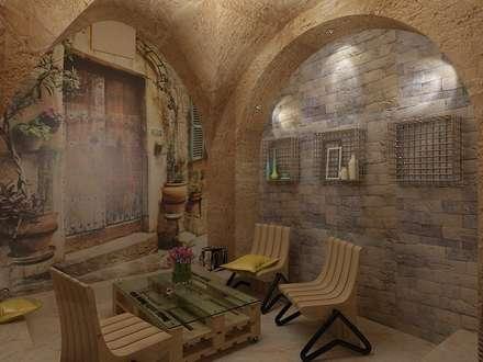 Edificios de Oficinas de estilo  por Дизайн студия Марины Геба