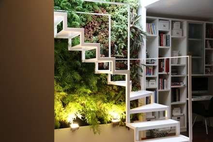 Apartamento Privado (Duplex) Zona do Lumiar/Lisboa - Portugal: Jardins modernos por LC Vertical Gardens