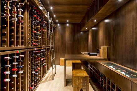 قبو النبيذ تنفيذ UNION Architectural Concept