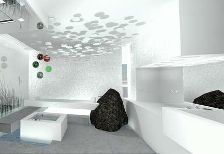 Trinkbrunnen mit Aquiwa Technologie: minimalistisches Spa von schienbein+pier