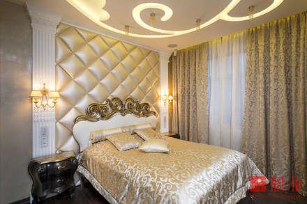 Роскошный оникс в Умном Доме: Спальни в . Автор – Art-In