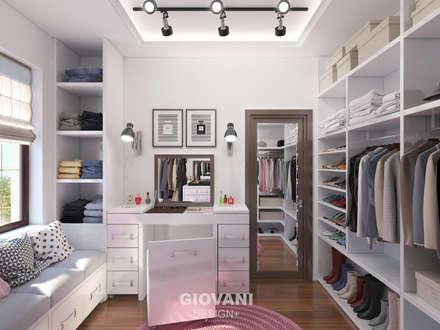 غرفة الملابس تنفيذ Giovani Design Studio