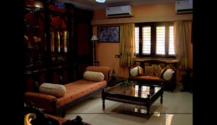 Traditional Interior Design: Asian Living Room By Creative Curve