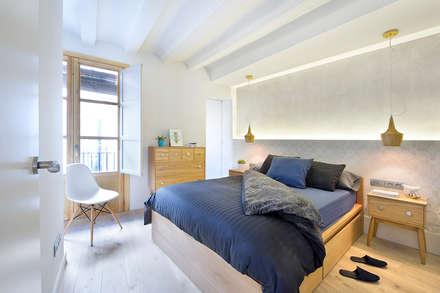 Cambio Sena por Mediterráneo: Dormitorios de estilo moderno de Egue y Seta