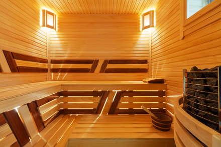 modern Spa by U-Style design studio