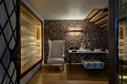 country Wine cellar by PATRICIA SALLES