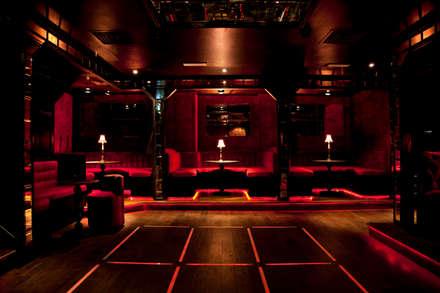 Dancefloor:  Bars & clubs by Rebecca James Studio