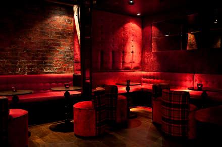 Basement mightclub:  Bars & clubs by Rebecca James Studio