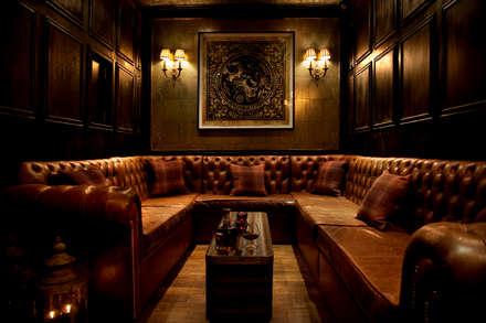 VIP room:  Bars & clubs by Rebecca James Studio