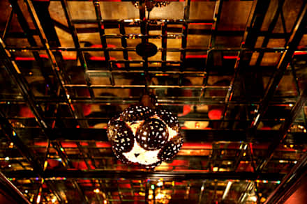 Ceiling detail:  Bars & clubs by Rebecca James Studio
