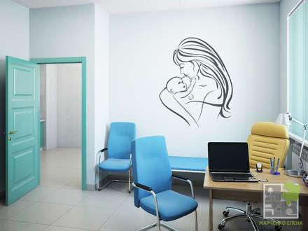 Медицинский центр - кабинет гинекологии: Кабинеты врачей в . Автор – Елена Марченко