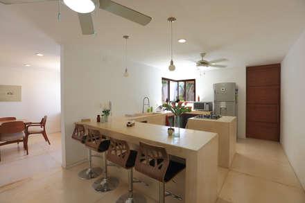 Cocinas de estilo topical por FGO Arquitectura