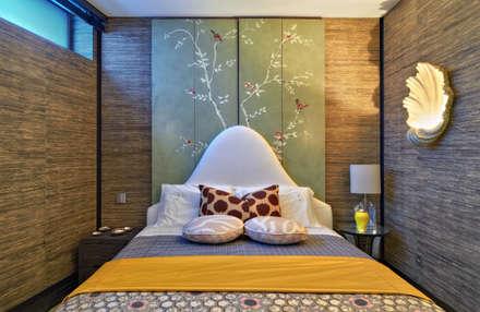 Timeless with a twist: Quartos ecléticos por Viterbo Interior design