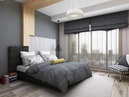 Ceren Torun Yiğit  – Stüdyo Daire Tasarımı: minimal tarz tarz Yatak Odası