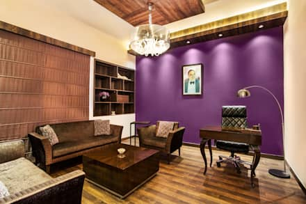 CHADDA PAPERS MD ROOM :  Offices & stores by Total Interiors Solutions Pvt. ltd.