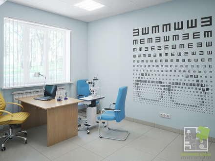 Медицинский центр - кабинет офтальмологии: Кабинеты врачей в . Автор – Елена Марченко