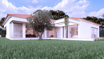 Casa AA: Habitações  por Rúben Ferreira   Arquitecto