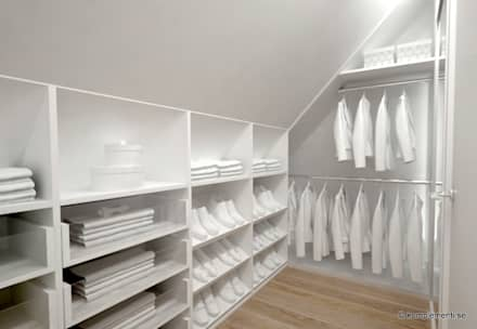 scandinavian Dressing room by Komplementi